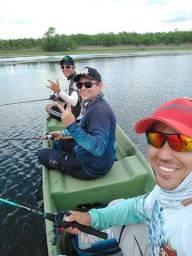 Canoa de fibra 4,80metros