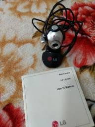 Câmera LG com CD de inscrição por 35 reais.
