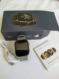 Smartwatch HM1 _ Preto / Cinza