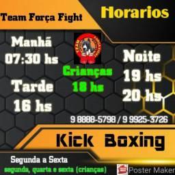 Aulas de Kick Boxing e personal fight
