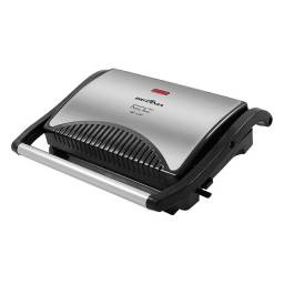 Sanduicheira e Grill Britânia Press Inox 220v