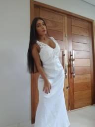 Vestido noiva novo