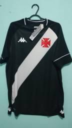 Camisa do Vasco Preta Masculina 2020/21