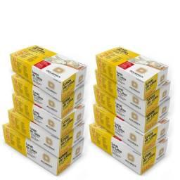 Luva Descartável - Látex com Pó -100 unidades - Descarpack Tamanho M