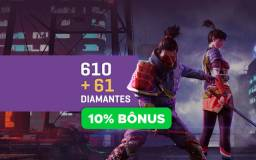 Diamantes Free Fire 671 ao todo