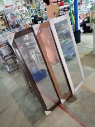 Espelho Emoldurado 30x120 Euroquadros