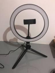 Ring light 26 cm nunca usada