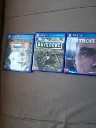 Vendo Jogos PS4 (OLHE A DESCRIÇÃO!!!)
