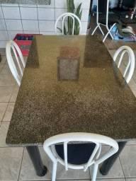 Mesa de mármore  6 lugares