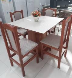 Conjunto de mesa laura - direto da fabrica