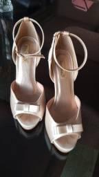 Sandália de noiva DONA ROSA
