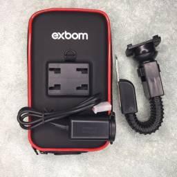 Suporte de Celular Moto Tomada USB e Case !