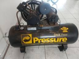Compressor de ar Pressure Ônix Press 20/200