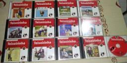 13 CDs do teixerinha original remasterizado