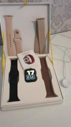 Relógio Inteligente Smartwatch Iwo 12 Pro Android IOS 44mm<br><br>