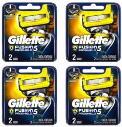 Kit Carga Gillette Fusion Proshield C/ 08 Cartuchos