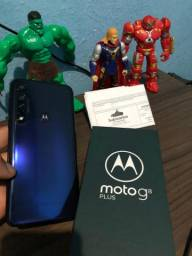 Moto G8 Plus novo garantia até19/08/2021