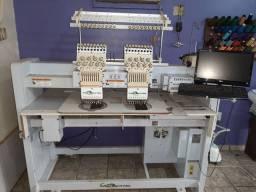 Maquina  de bordar  industrial