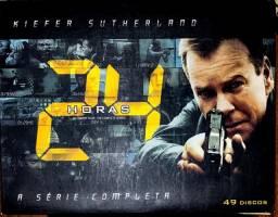 Box Dvd 24 Horas 8 Temporadas Completas + Filme - 49 Dvds