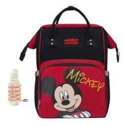 Título do anúncio: Mochila Maternidade Disney com aquecedor USB