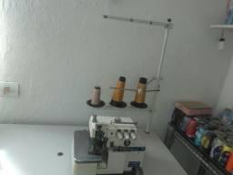 Maquina de costura overloque industrial super nova 2000