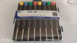 kit de Chave Torx t3 t4 t5 t6 - Philips Pentalobe
