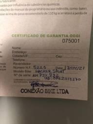 Vendo bike Hacker Sport aro 29, tamanho 17