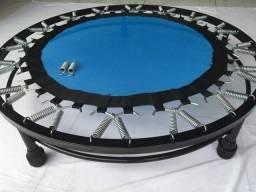 Mini trampolim profissional com aro de reforço
