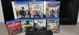 PS4 Slim 1TB + 7 Jogos