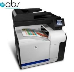 Laser multifuncional colorida Hp PRO500dn profissional + quatro toner novos