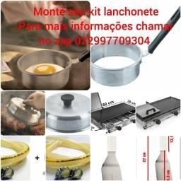 Kit lanchonete