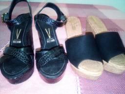 Sandália e tamanco