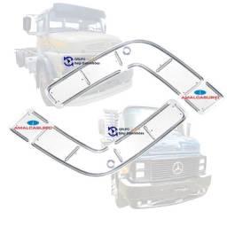 Chapa Protetora Para-choque Mercedes-Benz 1113 1518 2013 - Amalcaburio
