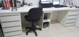 Mesa 2 estações de trabalho 2,5 m