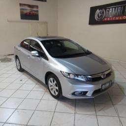 Honda Civic Exs 1.8 + teto Aut.