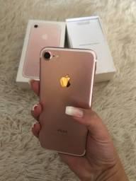 Título do anúncio: iPhone 7 Novinho Completo Tudo Original