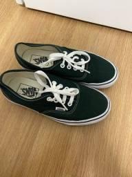 Vans Authentic Verde Escuro