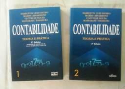 Livros usados Contabilidade Teoria e Prática Vol.1 e 2 - Hamilton Favero