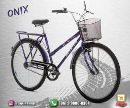 Bicicleta Aro 26 Onix VB Feminina, Violeta -Houston m18sd5sd21