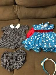 Lote roupas bebê