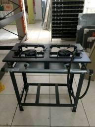 Fogão Industrial Standart JL 02 bocas