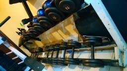 Dumbells de ferro