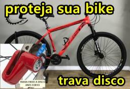 Trava disco bicicleta