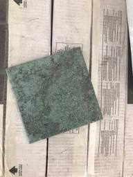Porcelanato verde Decortalis 15x15