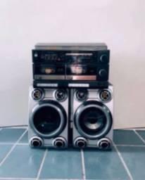 Toca disco e fita Sony AD- 3500 Funcionando . Radiola