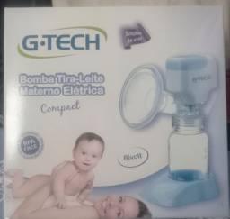 Bomba Tira-Leite Materno Elétrica  G. Tech- Nova