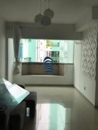 Apartamento com 70 m², 3/4, sala ampla, varanda, cozinha, área de serviço, banheiro social