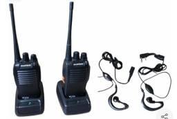 Rádio comunicador duplo  walk talk baofeng bf 777s + fone de ouvido