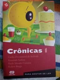 Livros didáticos Crônicas (1 ao 4)