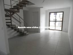 Oportunidade: Cobertura duplex no Pechincha, Libero, 3 quartos, 116m², apenas 500mil